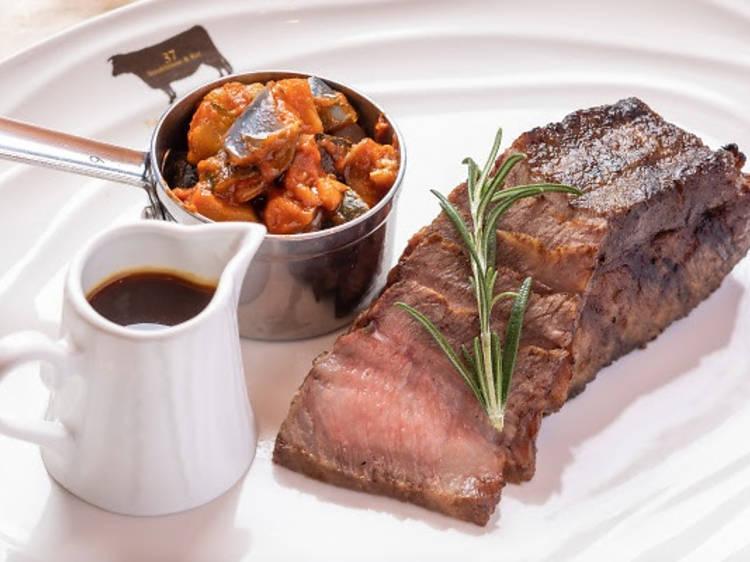 37 Steakhouse & Bar:主打日山 A5 和牛