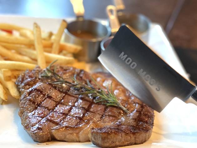 La Moo Moo' s Steak and Fries