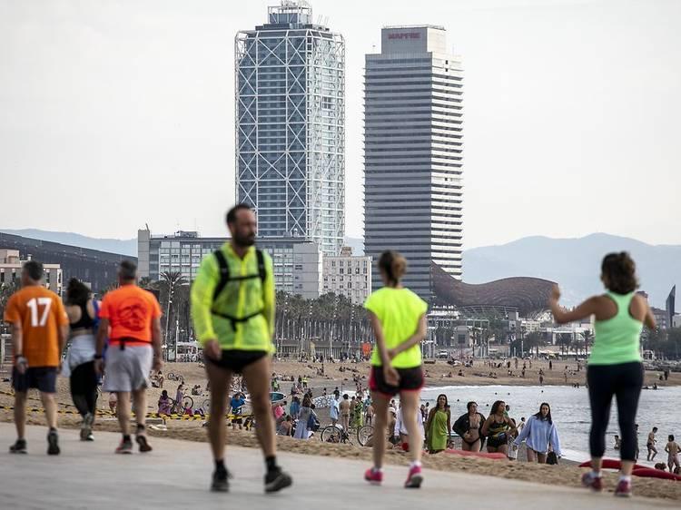 3. Conecta con Barcelona a través del deporte al aire libre