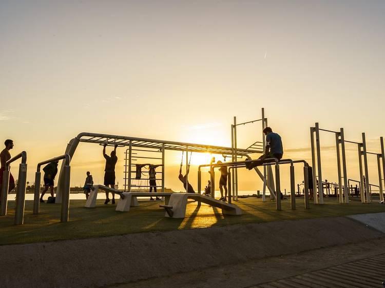 5. Aprovecha los espacios que facilita nuestra ciudad