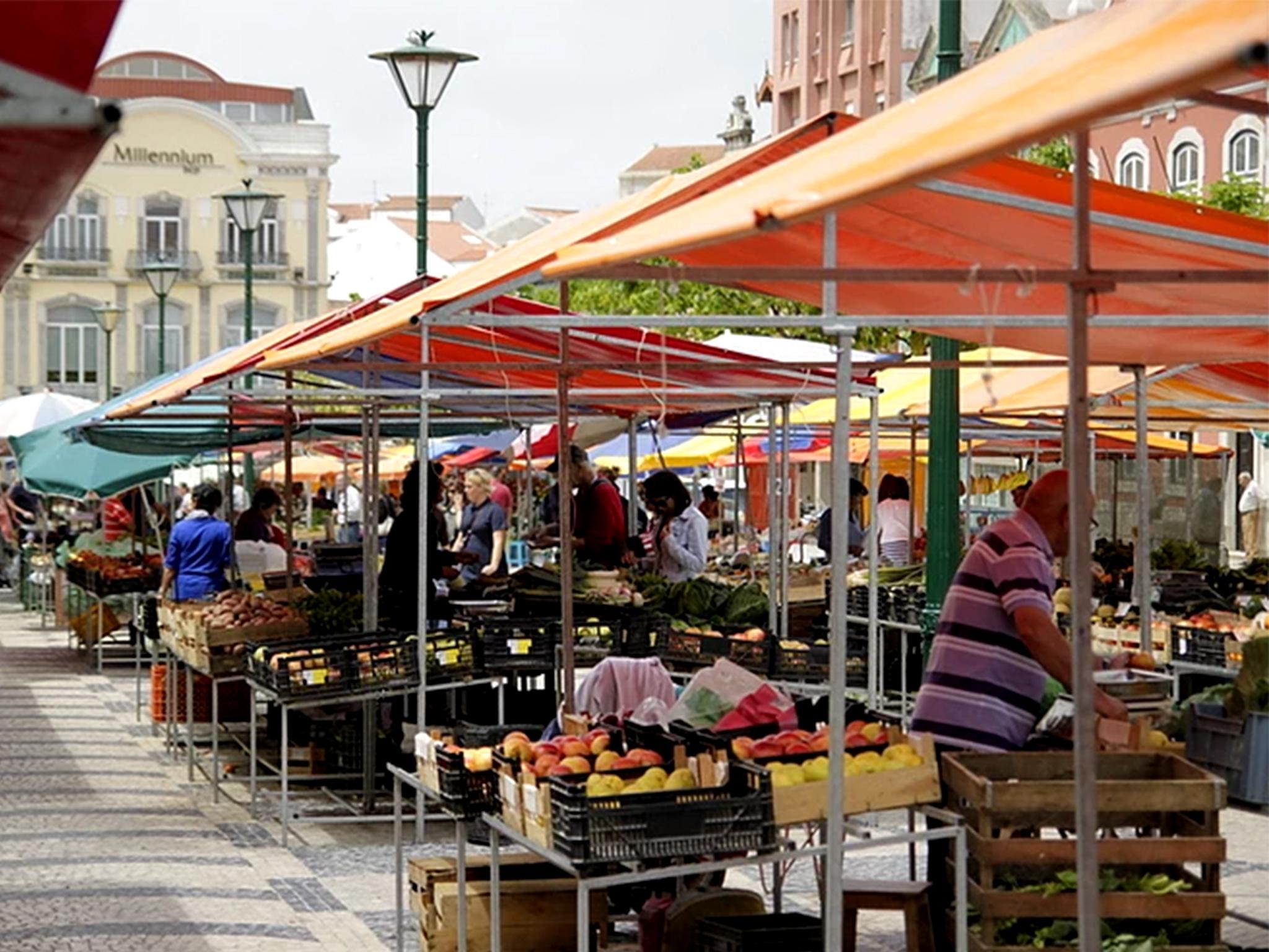 Caldas da Rainha, Praça da Fruta, Mercado