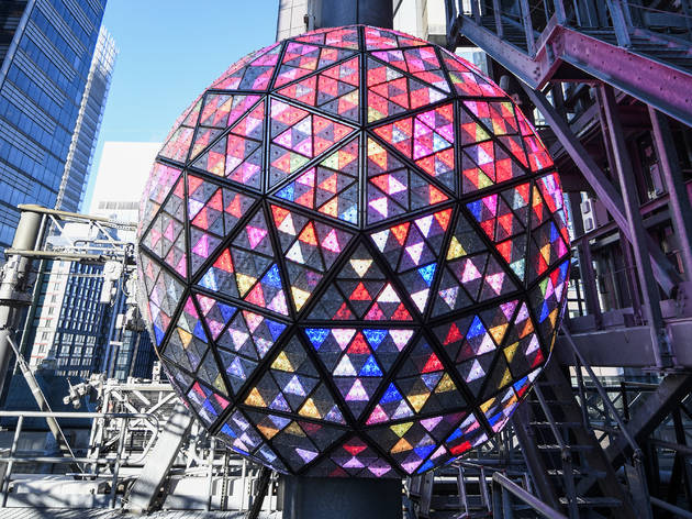 Times Square ball waterford crystal