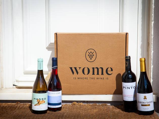 A Wome leva-lhe o melhor do mundo do vinho até casa