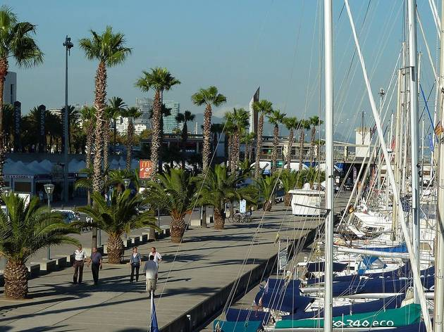 Moll. Port Olímpic de Barcelona
