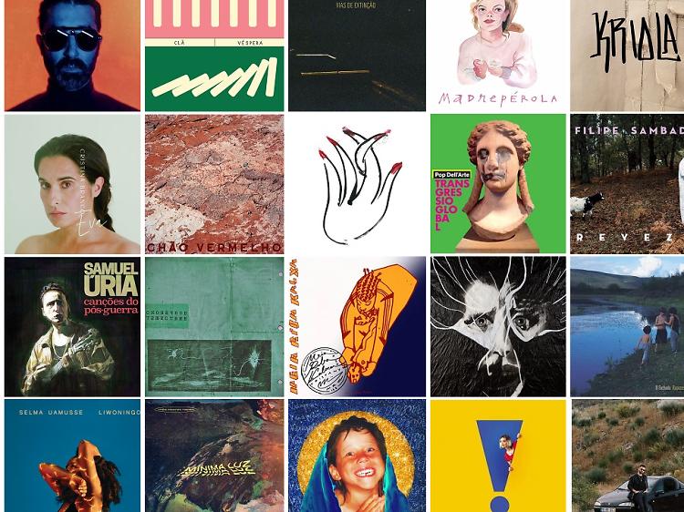 Os melhores discos nacionais de 2020