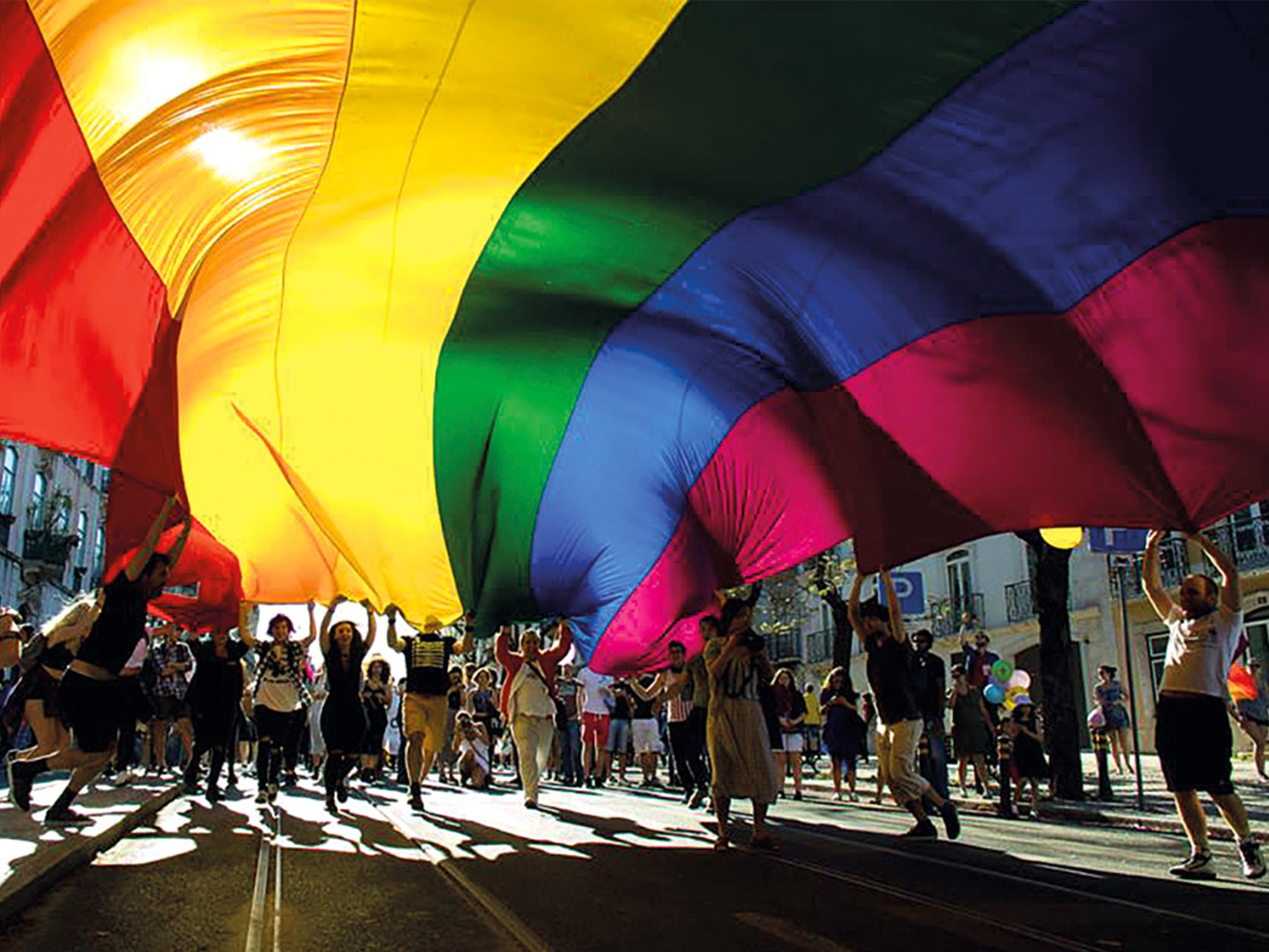 Marcha, LGBT+, Arraial Pride