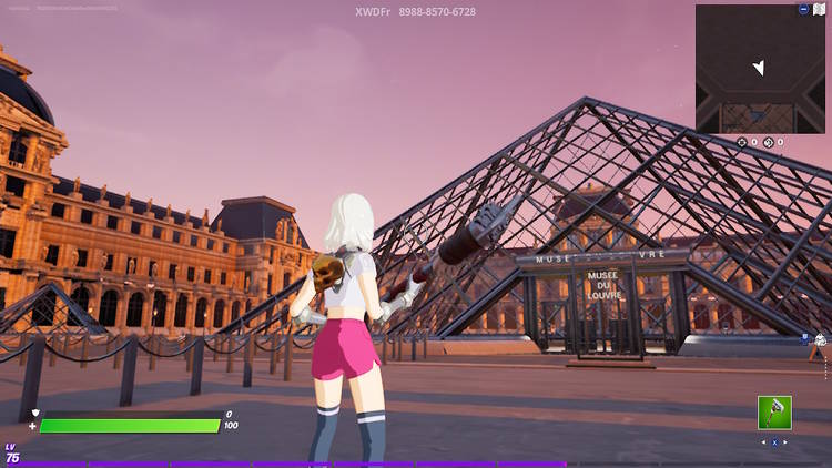 MUSEE DU LOUVRE BY XWDFR