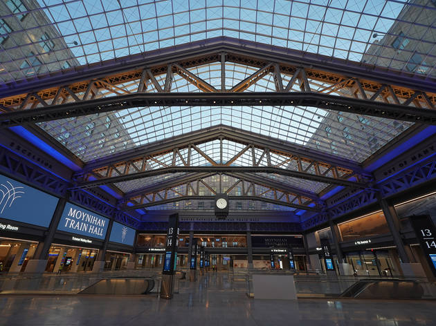 See inside Penn Station's spacious new passenger hall set to open on Friday