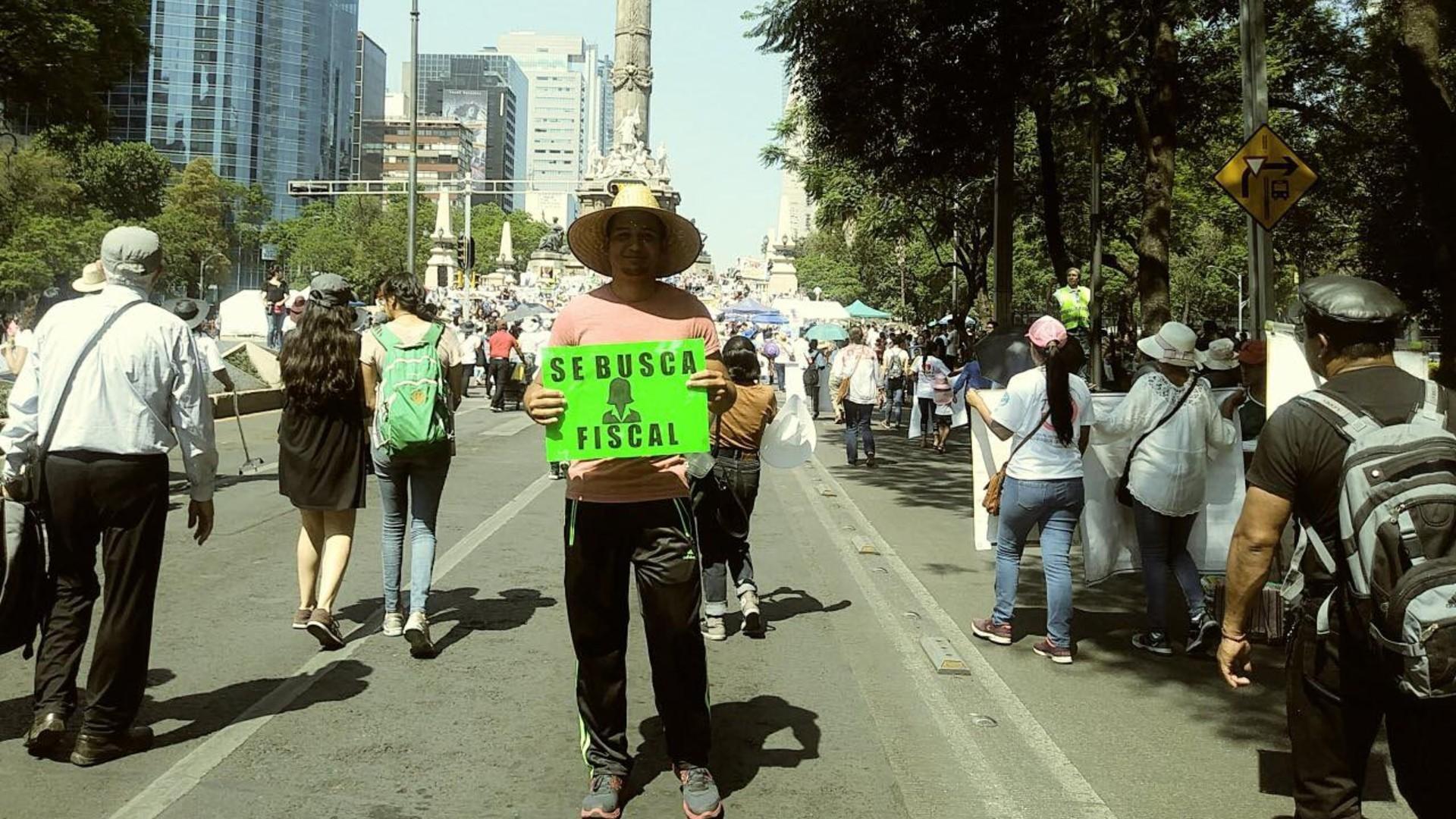 Josué, de Honduras, migró para sobrevivir
