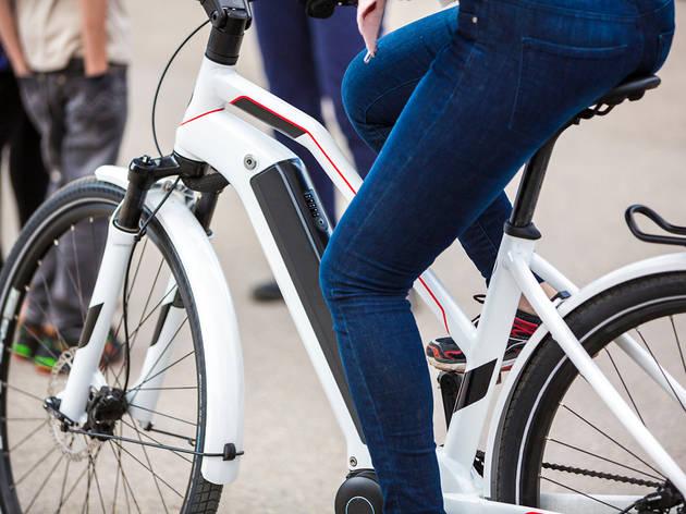 Sorteig d'una bici elèctrica