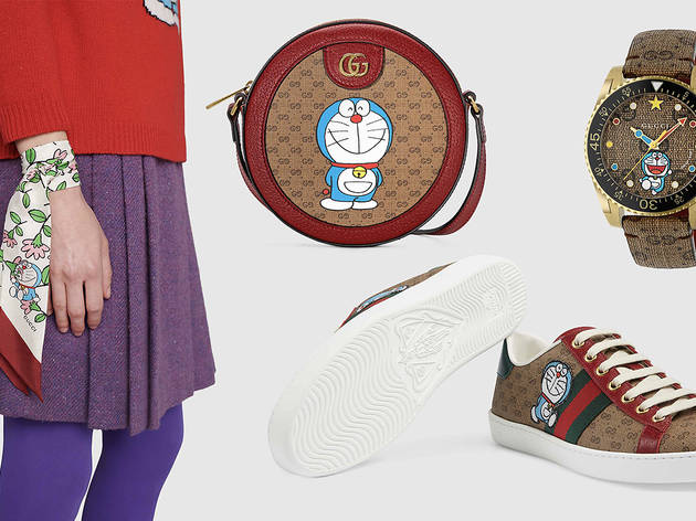 Gucci releases collection featuring Japanese manga character Doraemon