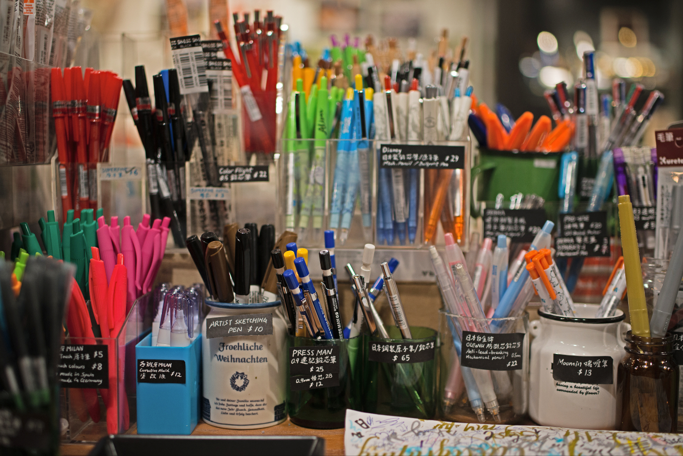 Hong Kong's best stationery stores