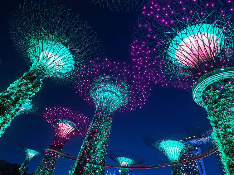 The best free things to do in Singapore at night