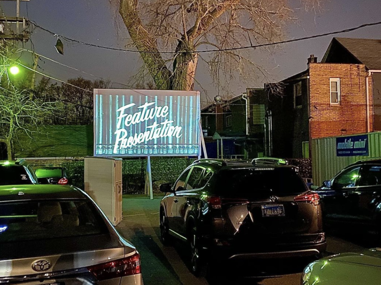 Drive-in, Dinner and Drinks