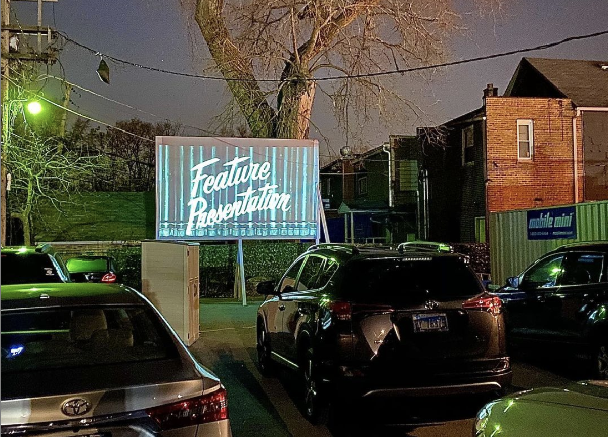 Rock Island Public House drive-in