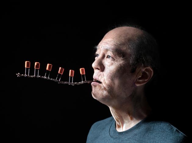 「やつし」の感覚を取り入れた、SUGAIの最新アーティスト写真