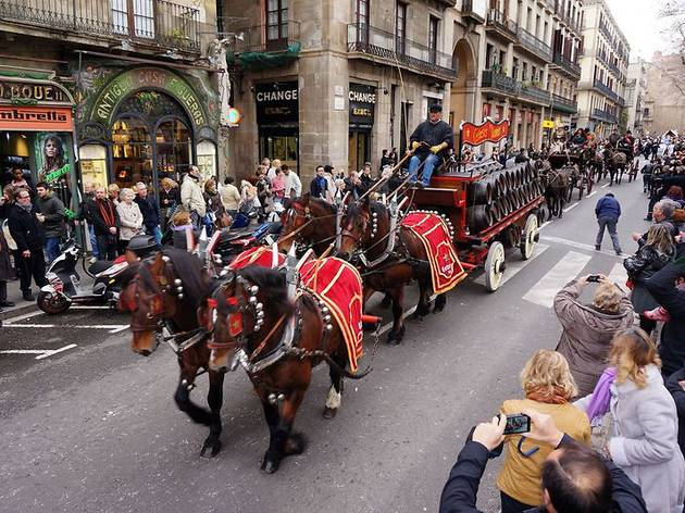 Festa Major de Sant Antoni. Tres Tombs