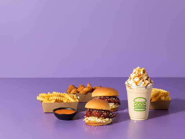 Shake Shack's new Korean menu