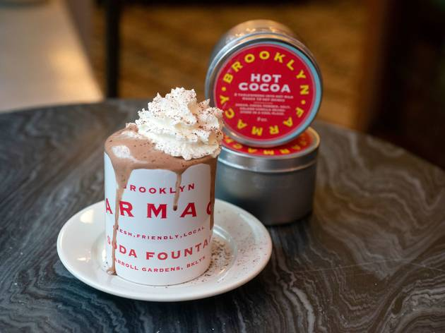 hot chocolate brooklyn farmacy