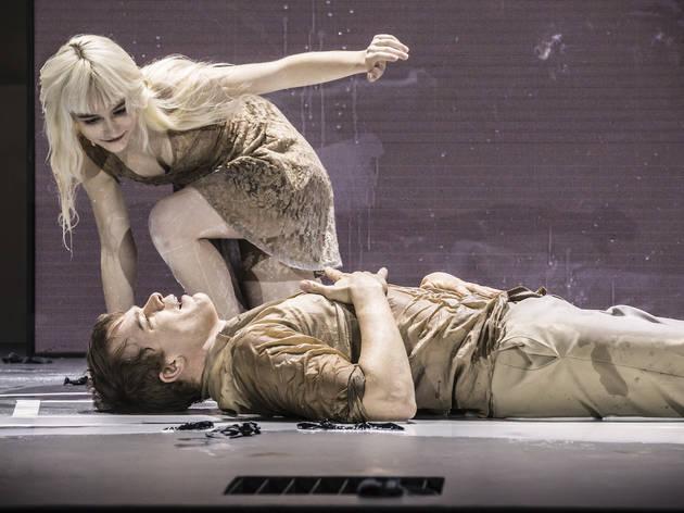 Michael C. Hall and Sophia Anne Caruso in Lazarus