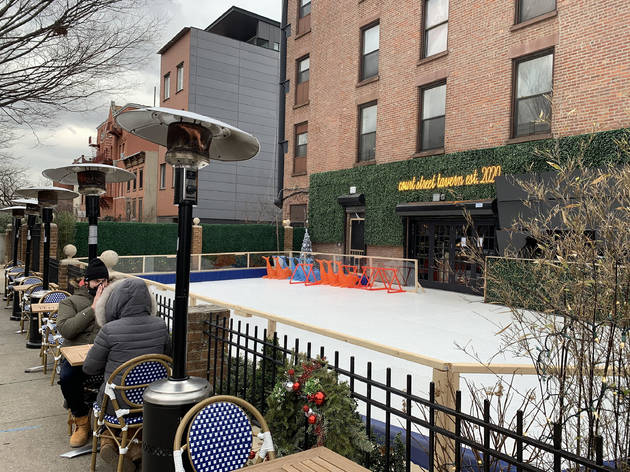 Brooklyn's new ice skating rink for kids is the perfect winter hangout