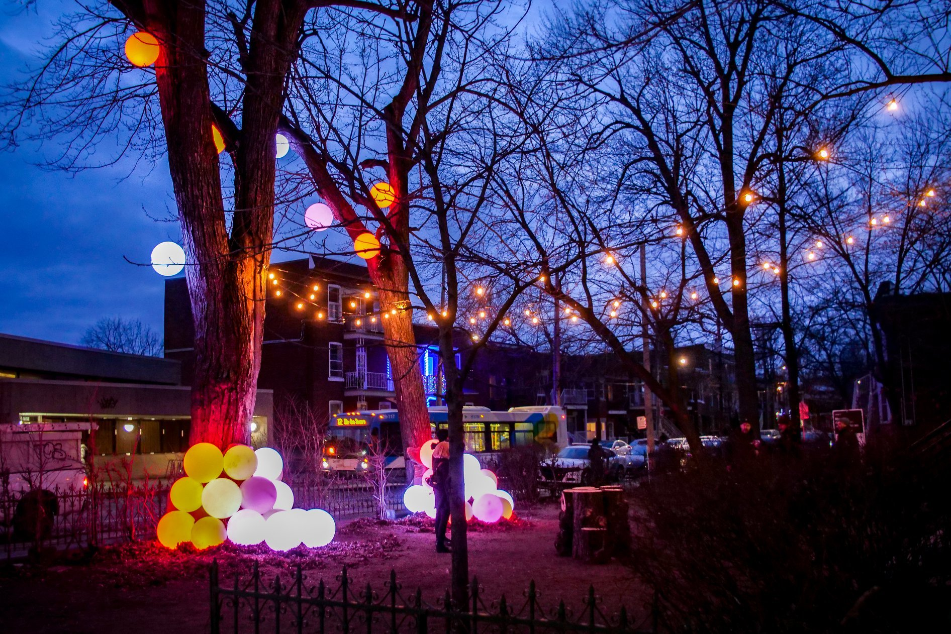 Where to find all 26 of Montreal's winter relaxation stations from local designers, architects