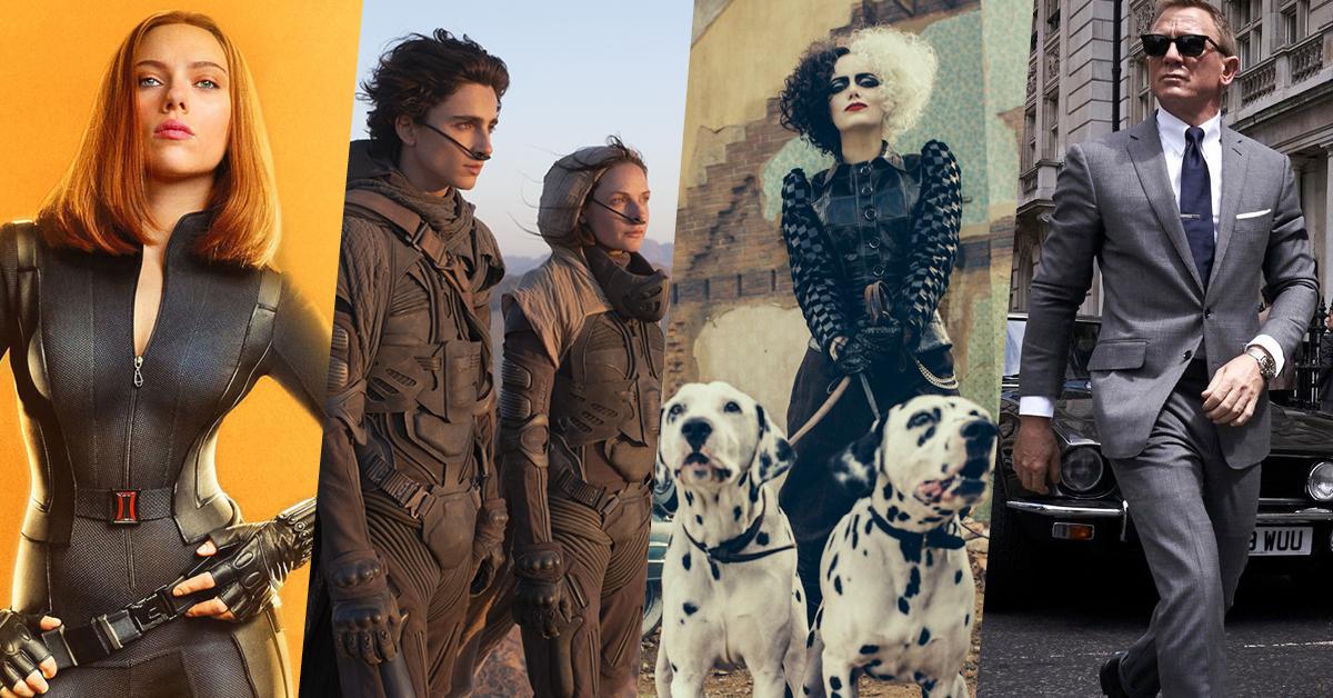 21 หนังน่าดูที่คอหนังไม่ควรพลาดตลอดปี 2021