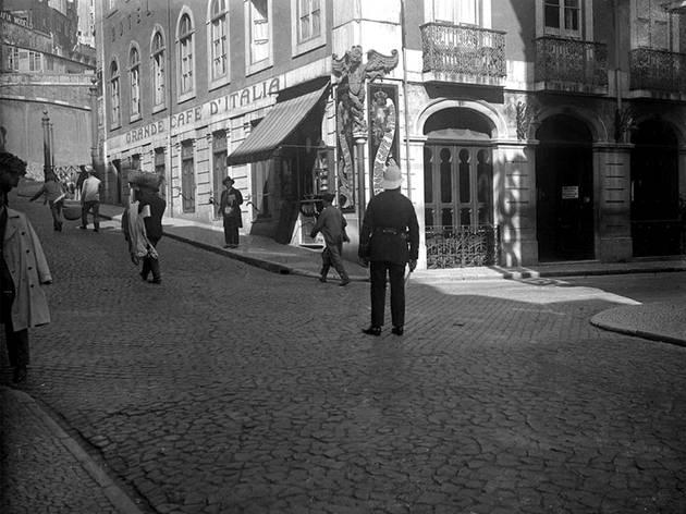 Pátio das Antigas, Lisboa Antiga, Grande Café D'Itália