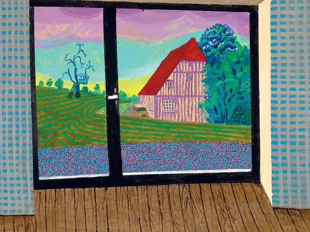 David Hockney : Ma Normandie