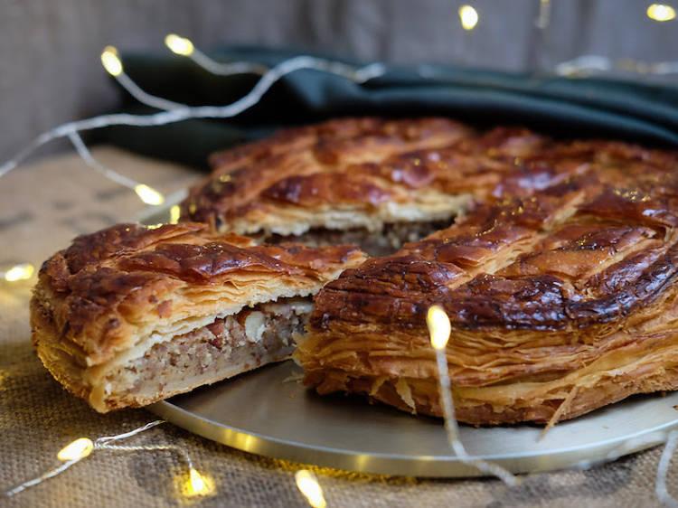La galette noisettes et caramel de la boulangerie Sain