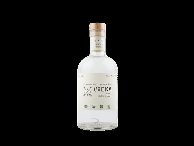 1533, vodka de Oaxaca
