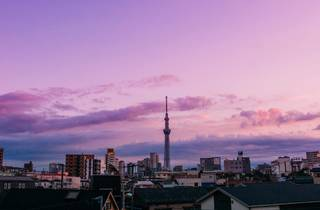 Tokyo Skytree sunrise – cropped to fit