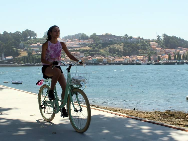 Os melhores sítios para andar de bicicleta no Porto