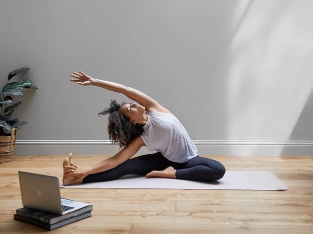 pyscle, yoga, virtual yoga