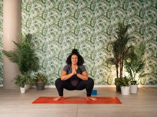 frame, yoga, virtual yoga