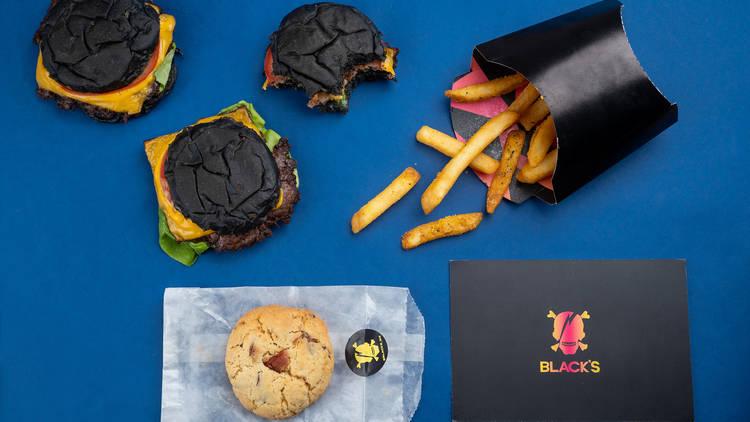 Black's, dark kitchen en la CDMX