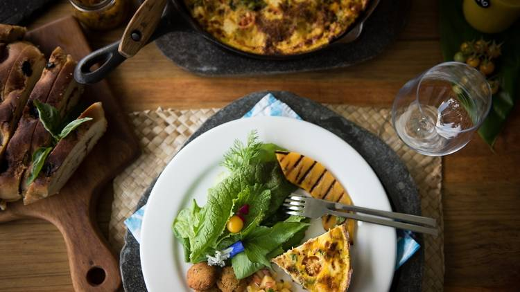 Traditional Fijian food