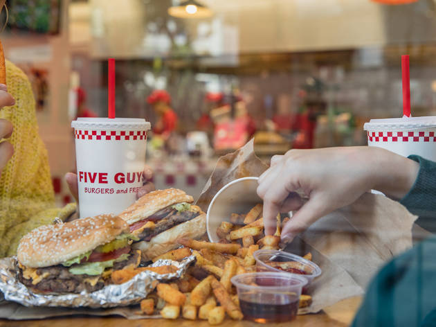 US burger giant Five Guys will open its first Aussie store in Penrith