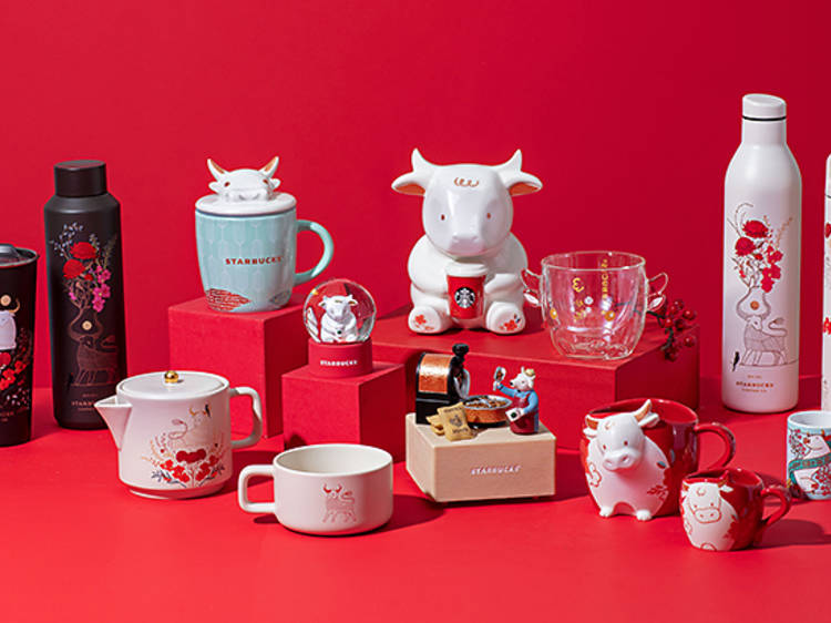 Starbucks Year of the Ox-themed collection