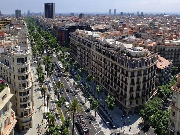 Vistes de la Diagonal de Barcelona