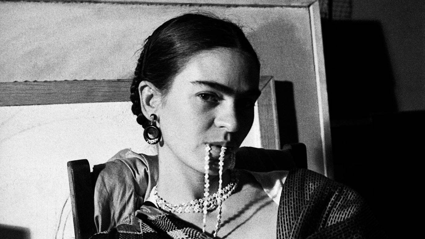 Frida Kahlo par Lucienne Bloch