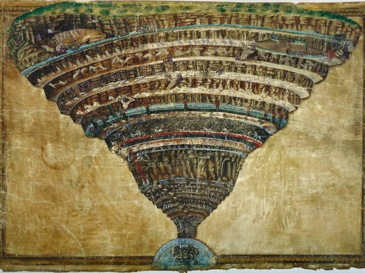 Visões de Dante. O Inferno segundo Botticelli