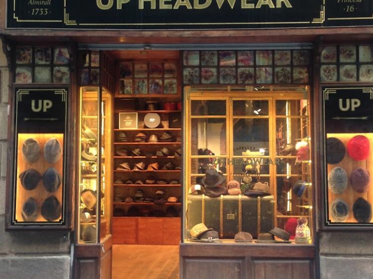 Up headwear