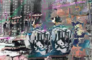 Digital artwork of two figures