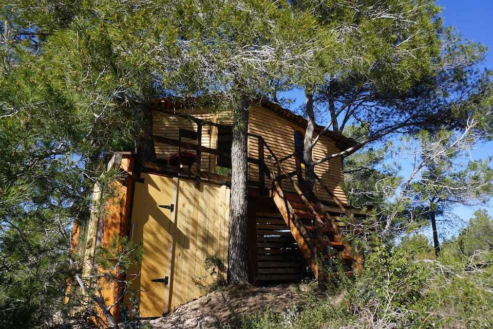 Airbnb, cabañas en los arboles