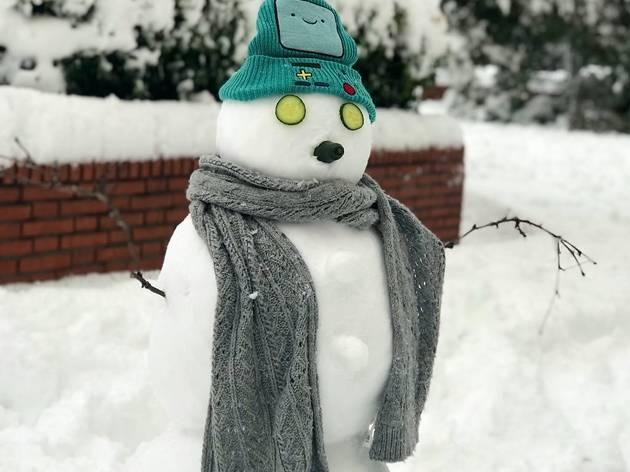 Millors ninots de neu del temporal Filomena