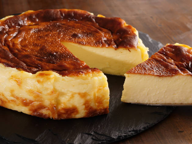 Pastís de formatge basc