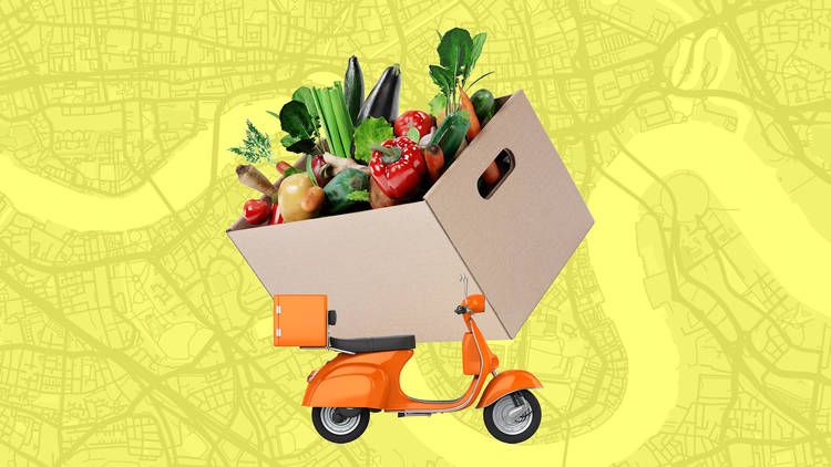 Fruit and veg box deliveries in London