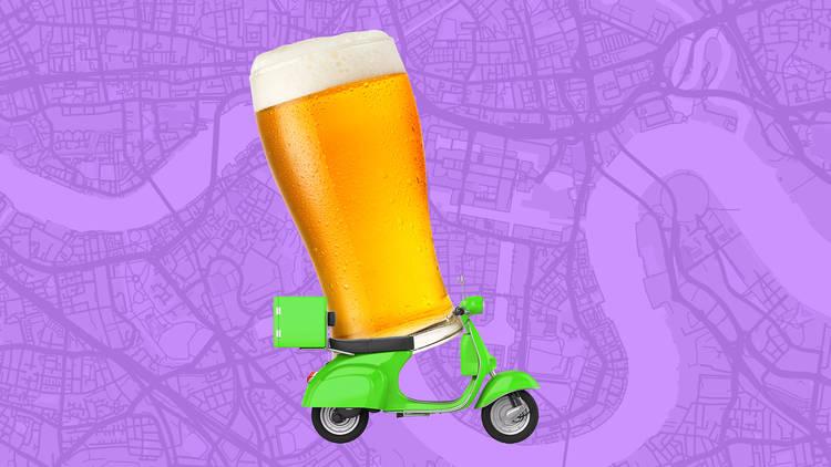 Brewery beer delivery takeaway