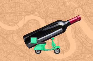 Wine home delivery takeaway